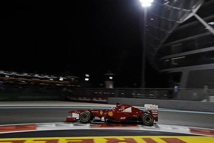 Fernando Alonso (Ferrari) - GP de Abu Dhabi 2011