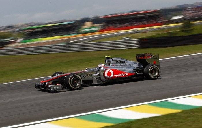 Jenson Button (McLaren) - GP de Brasil 2011