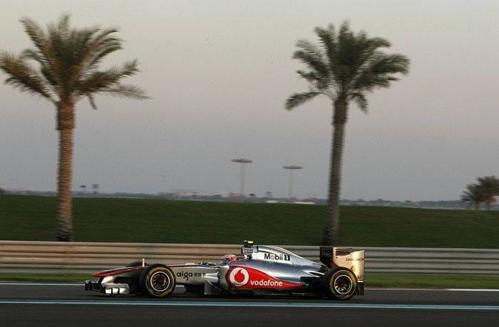 Jenson Button (McLaren) - GP de Abu Dhabi 2011