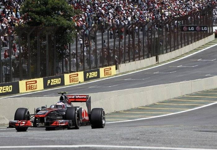 Jenson Button (McLaren) - GP Brasil 2011