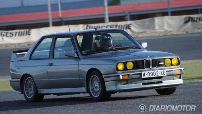 Rallye de Madrid y celebración del 25 aniversario del M3 E30