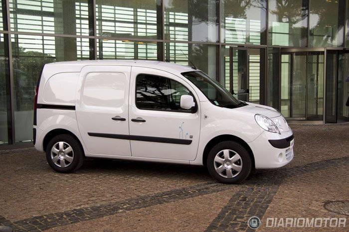Renault Kangoo ZE eléctrica