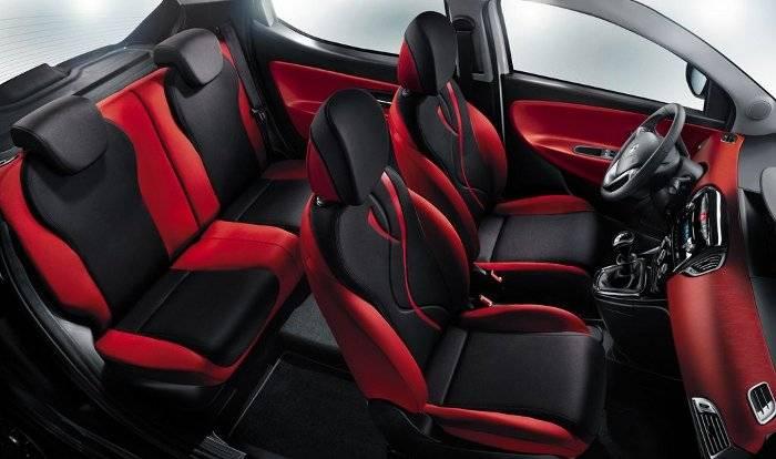 Lancia Ypsilon Black&Red