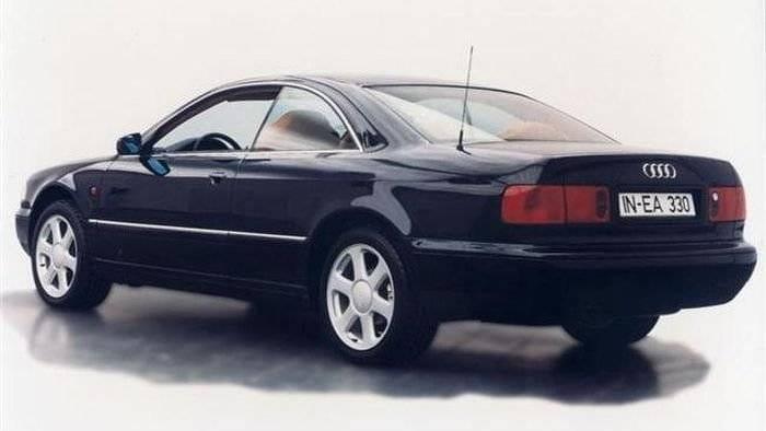Audi A8 Coupé, el rival del Mercedes CL que no llegó a nacer