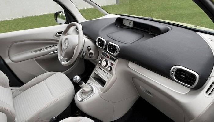 Interior del Citroën C3 Picasso 2009