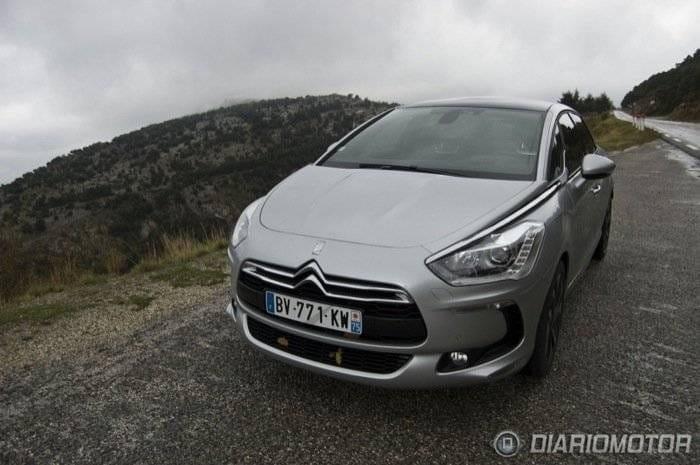 Citroën DS5 en Niza