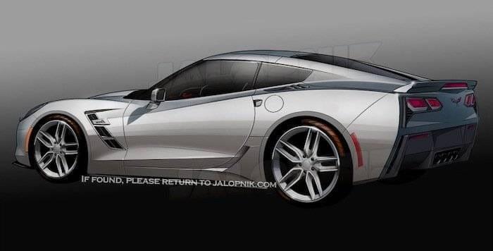 Corvette C7 ZR1 Boceto