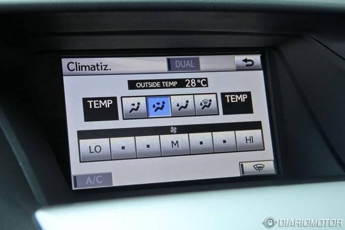 Lexus RX 450h Luxury, a prueba (III)
