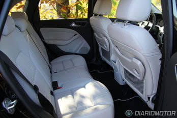Mercedes-Benz Clase B 2012, interior