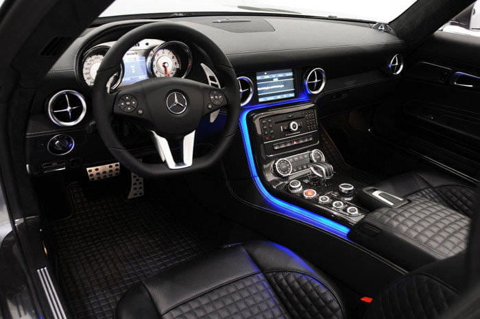 Mercedes SLS AMG Roadster por Brabus