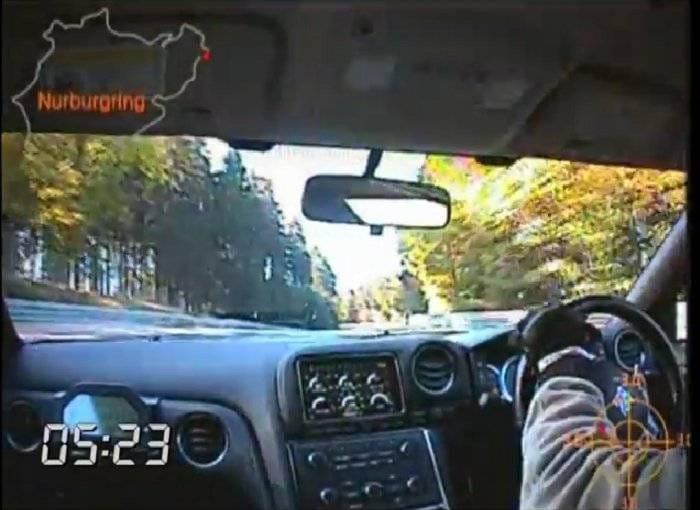 El Nissan GT-R registra un tiempo de 7:21 en Nürburgring