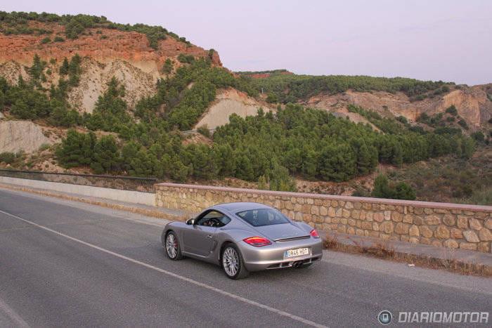 Porsche Cayman S, a prueba