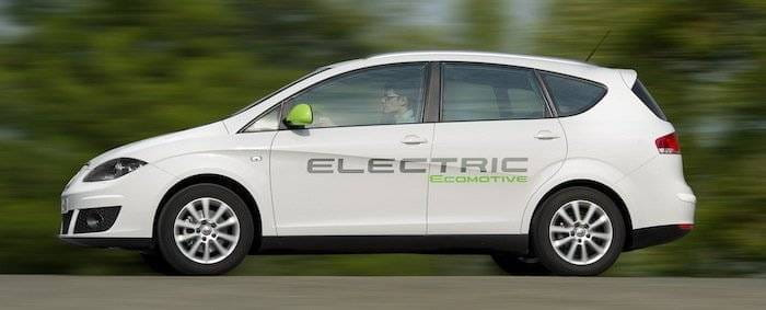 Seat Altea Electric XL Ecomotive y Seat León TwinDrive Ecomotive