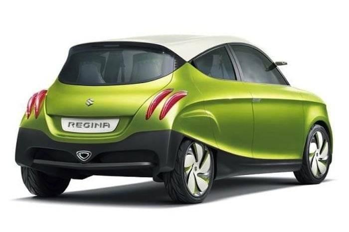 Suzuki Regina Concept, un pequeño utilitario con sabor retro y chic