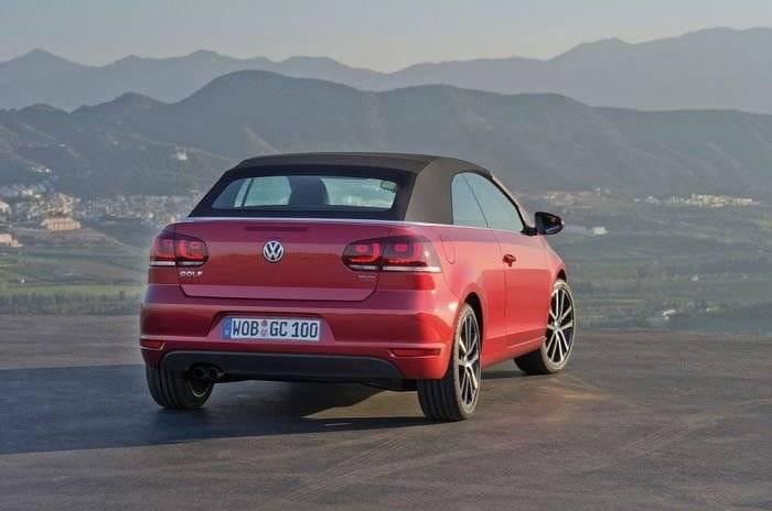 Nuevos motores 1.4 TSI y 2.0 TDI para el Volkswagen Golf Cabrio