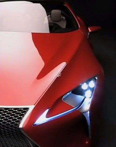 Lexus LF-LC, primeras imágenes filtradas