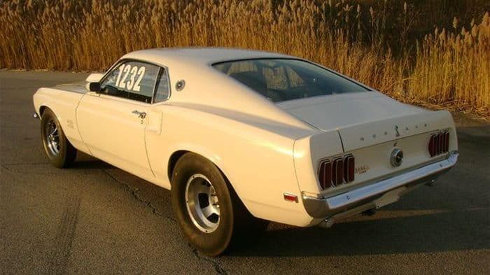 A subasta un exclusivo 1969 Ford Mustang Boss 429 original