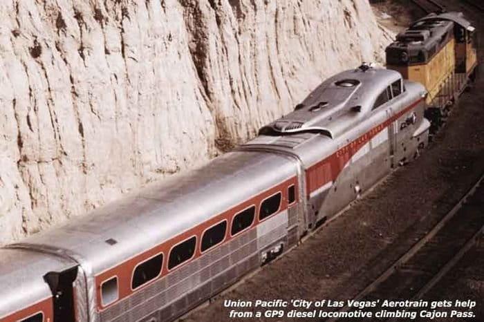 General Motors Aerotrain, el fracaso en el pasado del tren del futuro