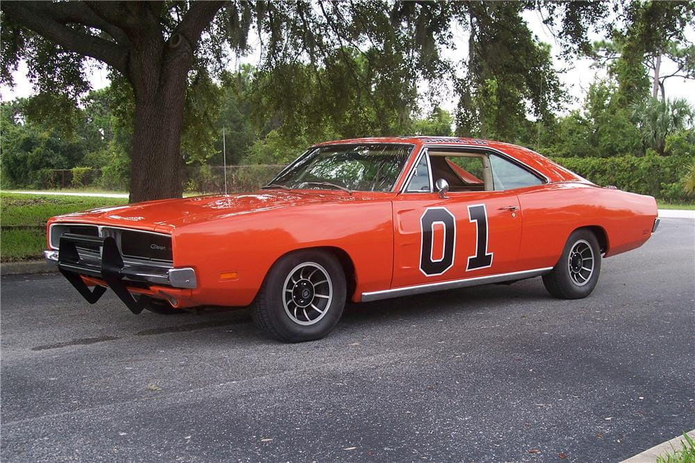 a subasta el primer general lee un dodge charger de. Black Bedroom Furniture Sets. Home Design Ideas