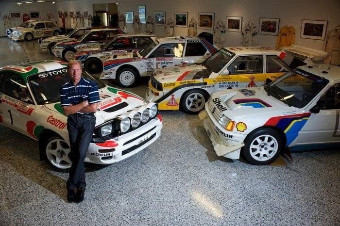 La impresionante colecci n de coches de juha kankkunen un for Garage seat 91