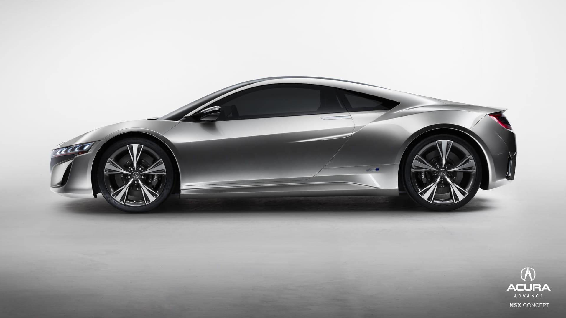 Acura Nsx Prototype Asi Luce La Ultima Iteracion Del Futuro Honda Nsx Diariomotor
