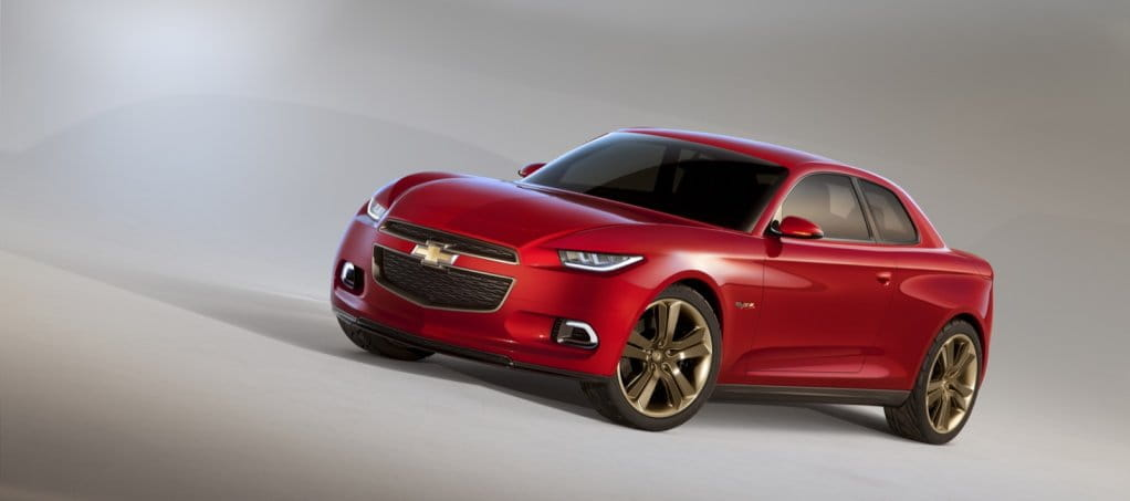 Chevrolet Code 130R Concept!