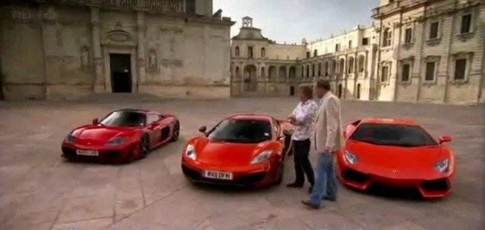 Top Gear cruza Italia a bordo del Lamborghini Aventador, McLaren MP4-12C y Noble M600: destino, Imola