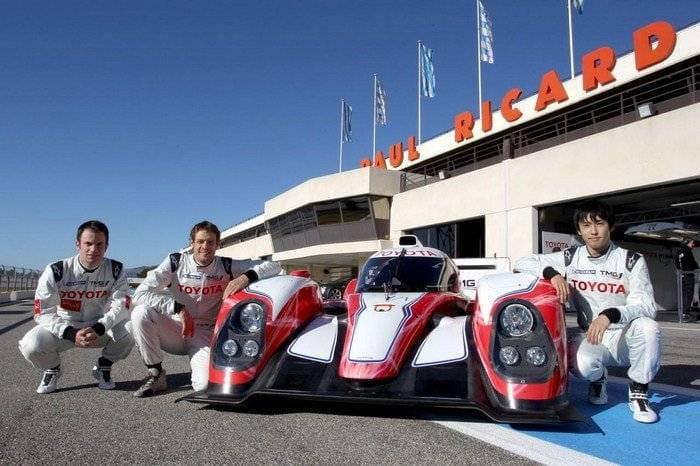 Toyota TS030 Hybrid (Le Mans 2012)