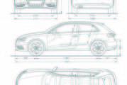 Audi A3/Abmessungen