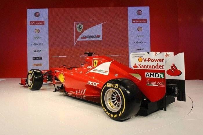 Ferrari F1 F2012
