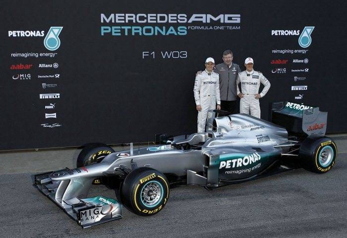 Mercedes-Benz W03 F1 (2012)
