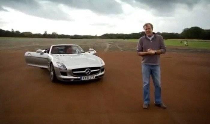 Mercedes SLS AMG Roadster en Top Gear