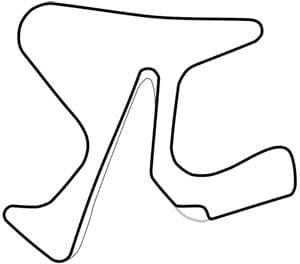 Mapa del circuito de Jerez