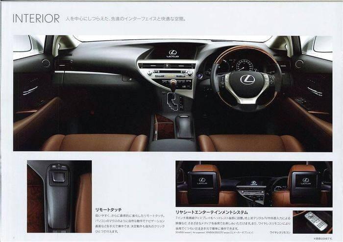 Al descubierto el lavado de cara de los Lexus RX y sus versiones F-Sport