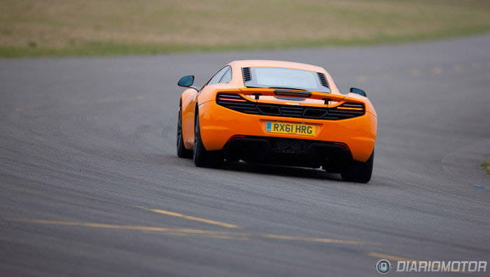 McLaren MP4-12C, a prueba