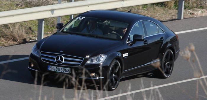 Presentación de los neumáticos Pirelli P Zero Silver, prueba en carretera Mercedes CLS