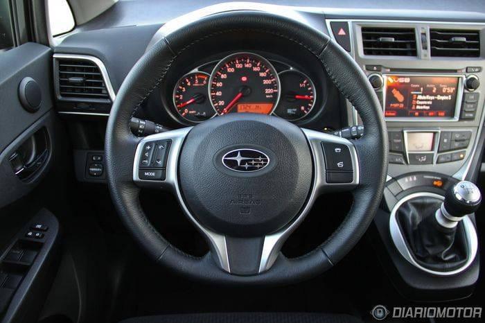 Subaru Trezia 1.4D Limited, a prueba