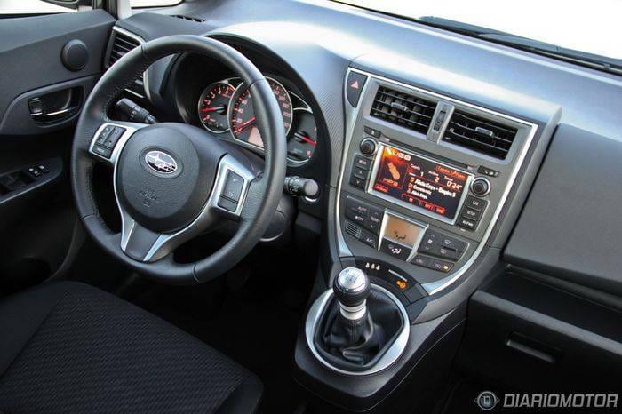 Subaru Trezia 1.4D Limited, a prueba (II)