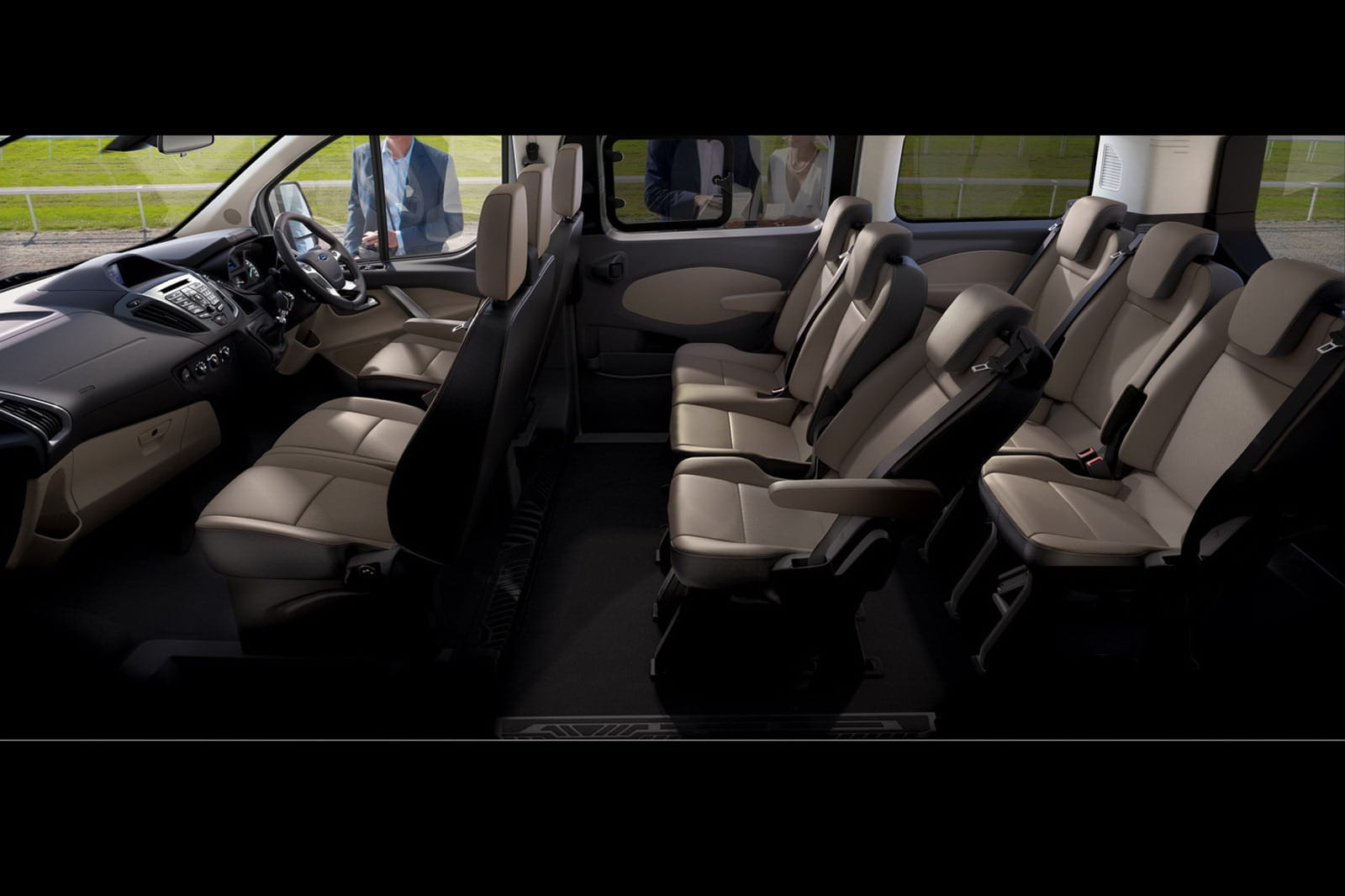 ford tourneo custom 2012 un peque o y moderno mini bus foto 1 de 5. Black Bedroom Furniture Sets. Home Design Ideas