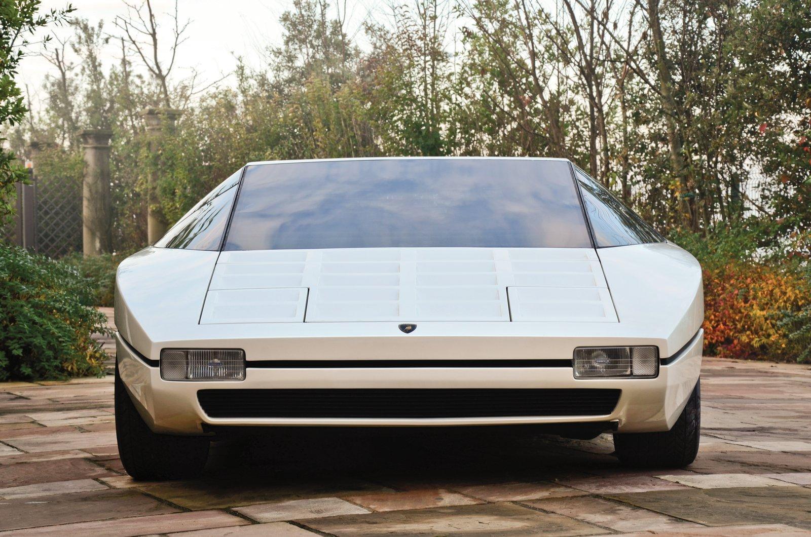 Galería Lamborghini Bravo (1974), el proyecto inconcluso de Ferruccio