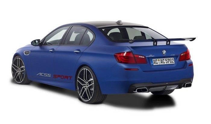 AC Schnitzer ACS5 Sport, el BMW M5 F10 alcanza los 620 CV