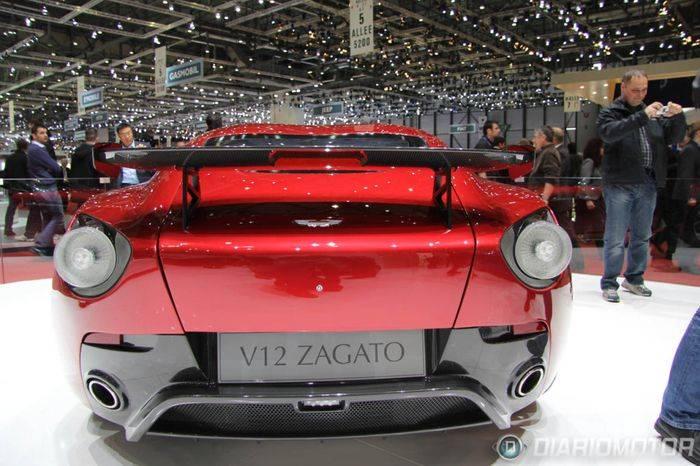 Aston Martin V12 Zagato en Ginebra