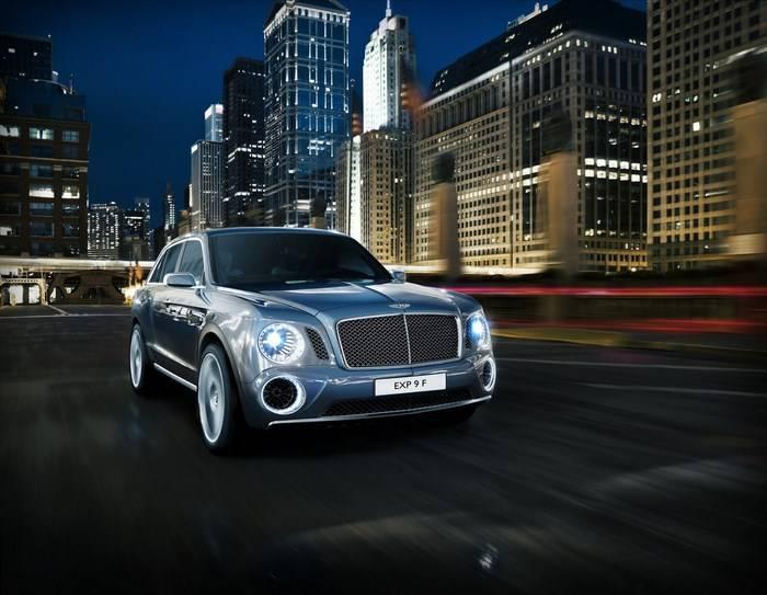 Bentley EXP 9 F: presentado oficialmente el SUV de Bentley