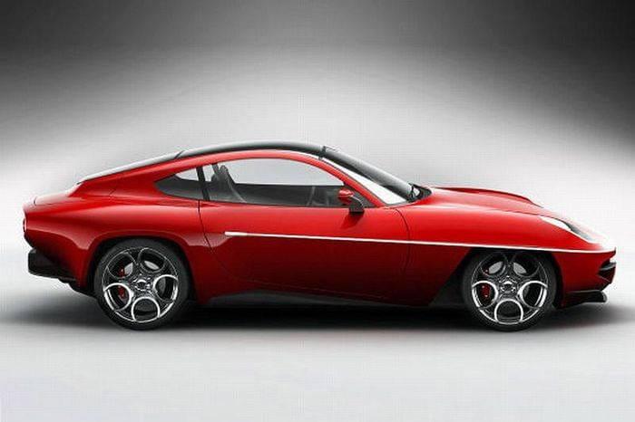 Carrozzeria Touring Superleggera Alfa Romeo Disco Volante 2012 Concept, primeras imágenes filtradas
