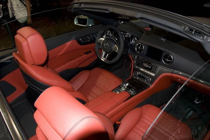 Mercedes SL 63 AMG en el Salón de Ginebra