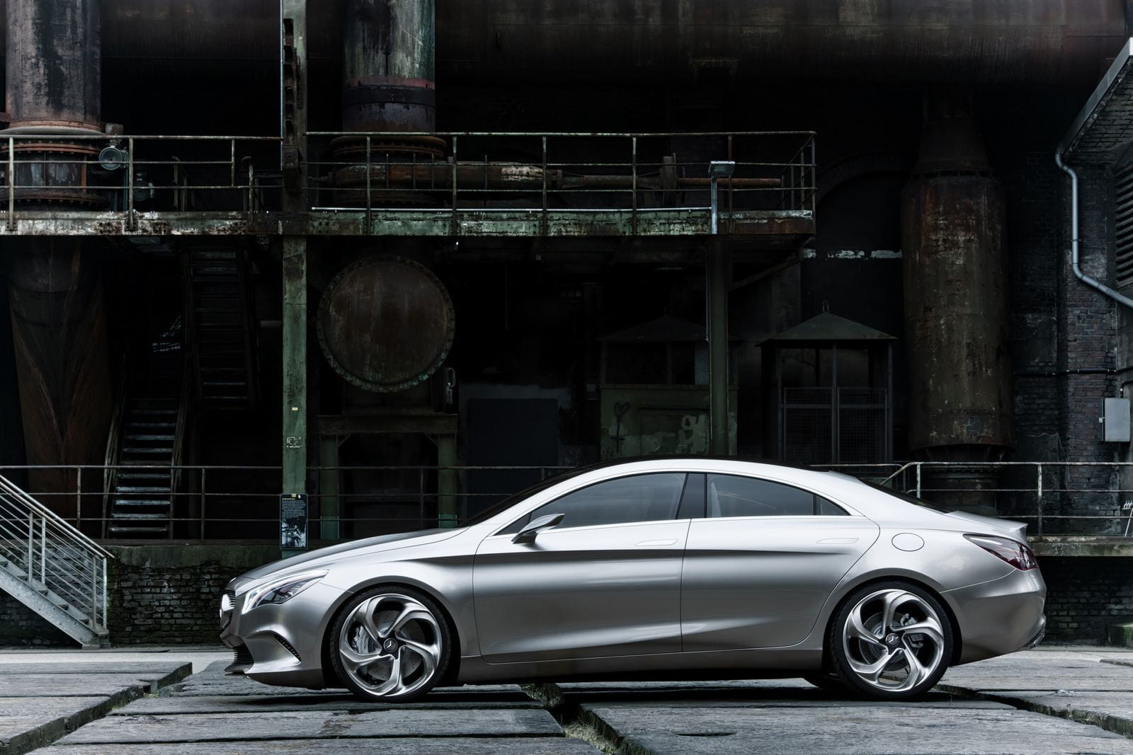 Mercedes benz concept style coupe