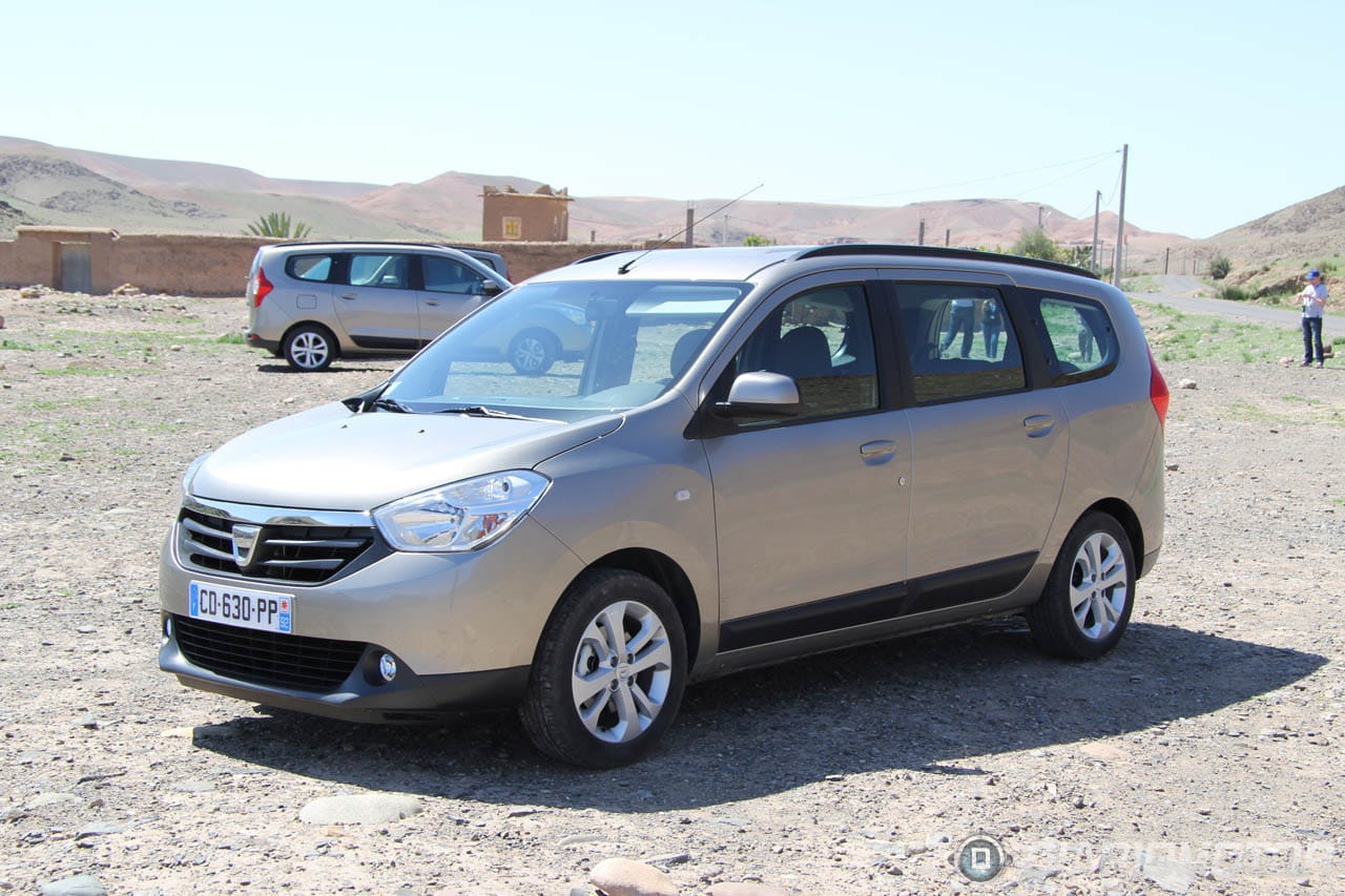 dacia lodgy prueba en marrakech siete plazas por euros diariomotor. Black Bedroom Furniture Sets. Home Design Ideas