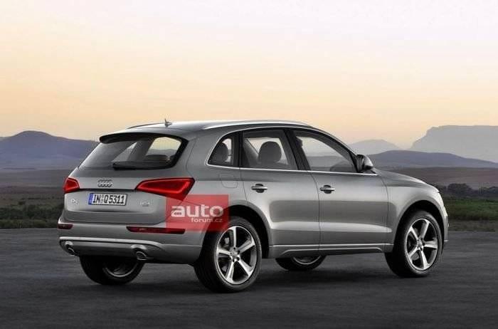 Audi Q5, se filtran las imágenes de su lavado de cara