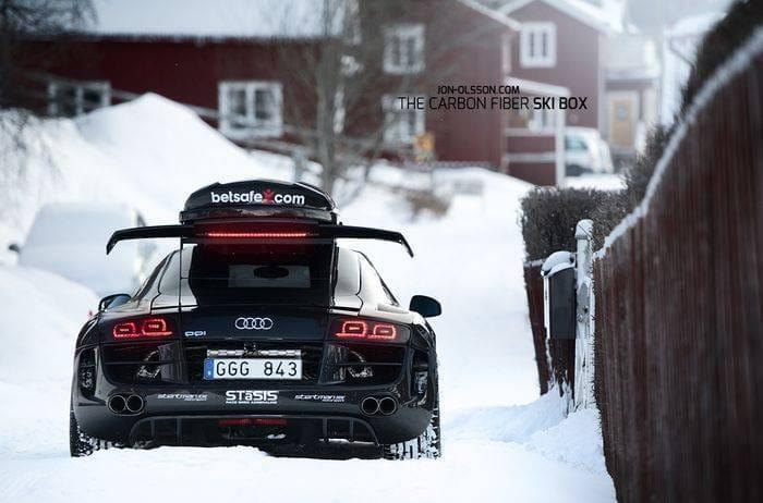 Jon Olsson se hace con un Audi R8 preparado por PPI para ir a esquiar