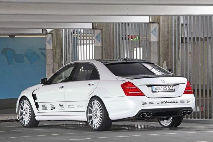 CFC-Sundern transforma al Mercedes S 65 AMG en un objeto extraño